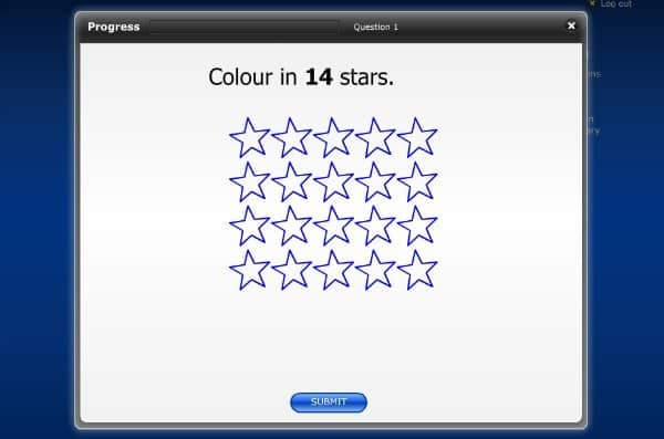 Colour in 14 stars