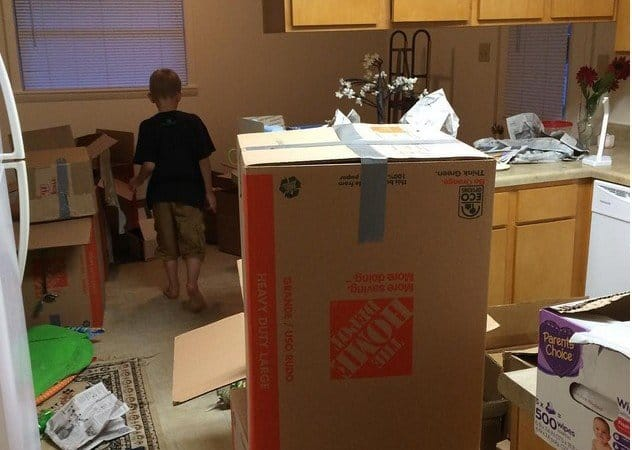 Packing, Moving, and Unpacking