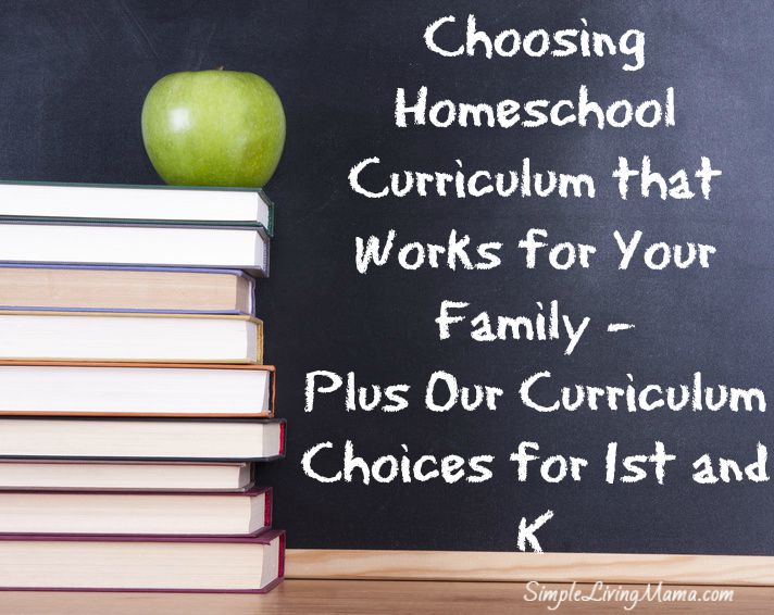Choosing Homeschool Curriculum that Works for Your Family