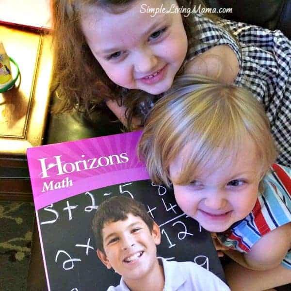 Horizons kindergarten math
