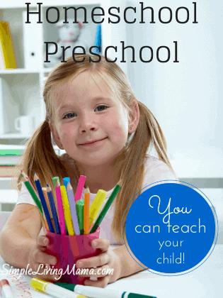 Homeschool Preschool-sidebar