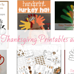 Free Thanksgiving Printables and Crafts for Kids