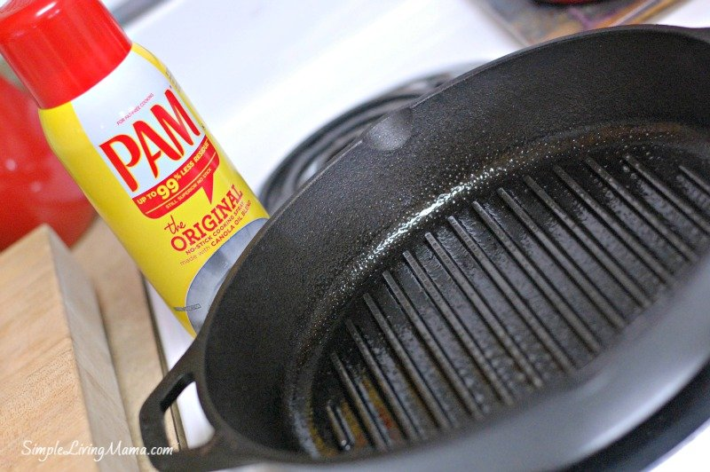 PAM grill pan