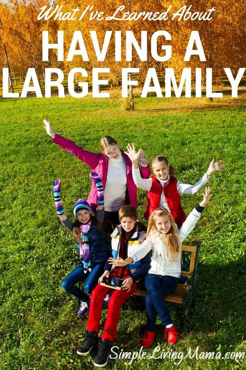 Having a Large Family