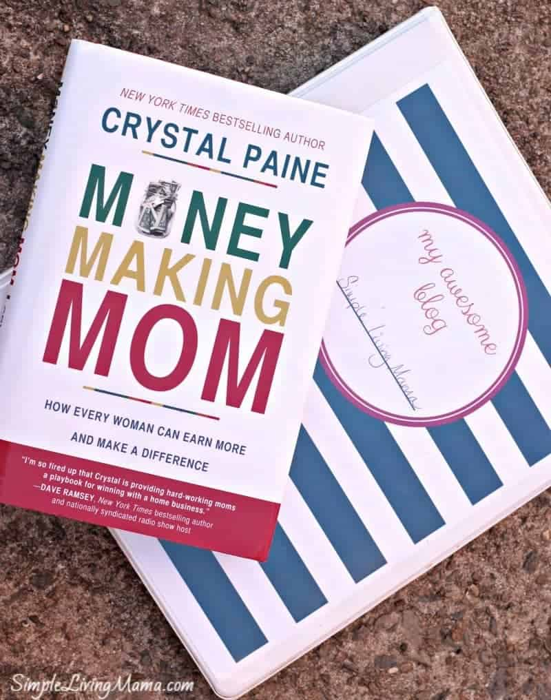 money making mom and blog binder