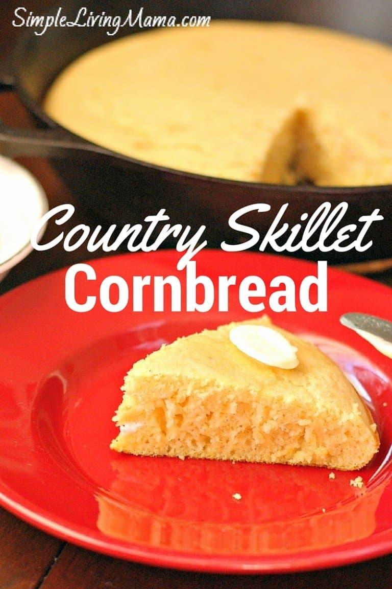 Country Skillet Cornbread