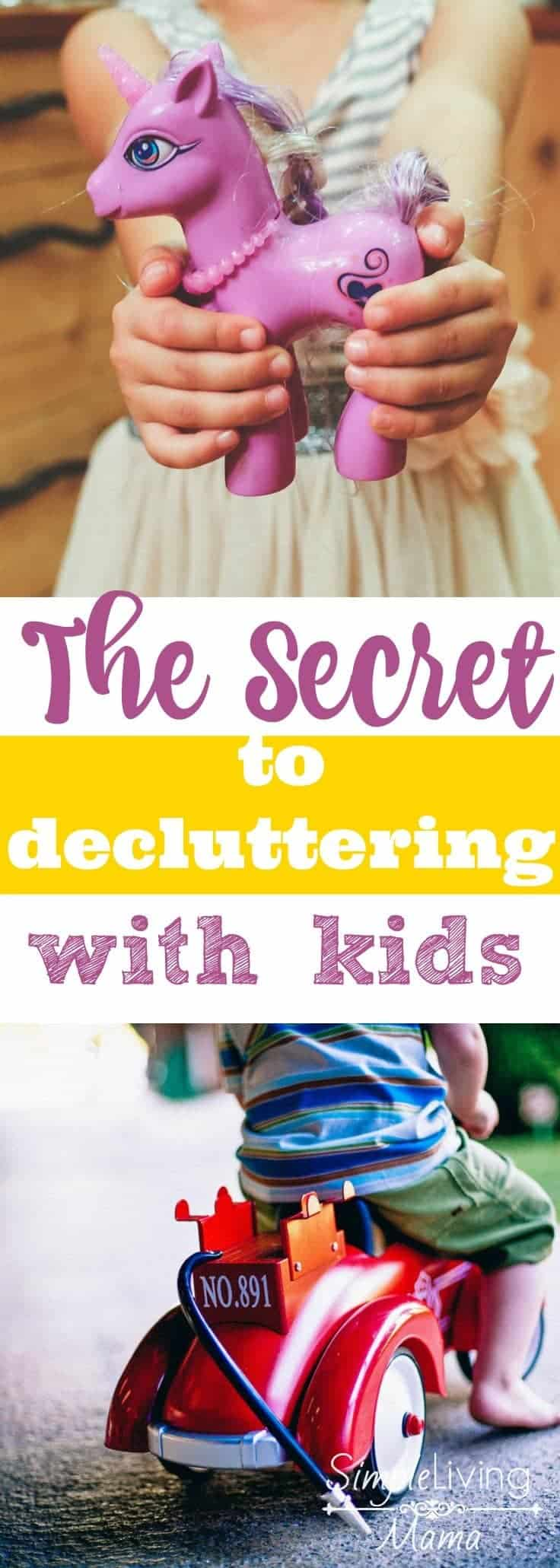 Want to know my secret to declutter kids' rooms? Here are my best tips to clean the closets and toy bins.