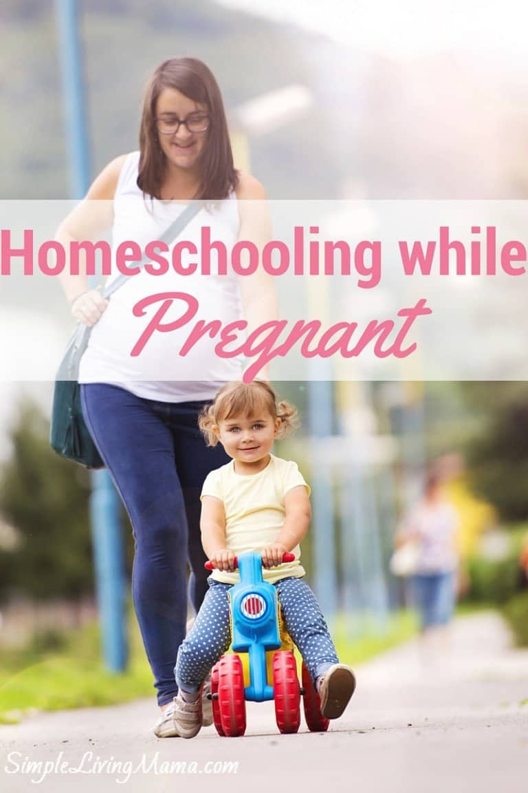 Homeschooling While Pregnant