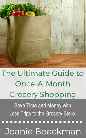 ultimate once-a-month grocery shopping