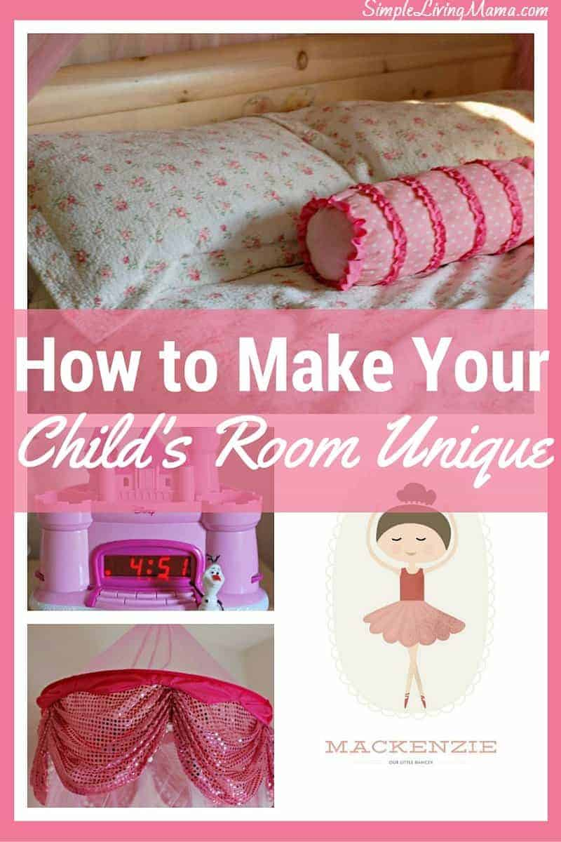 How to make your child's room unique