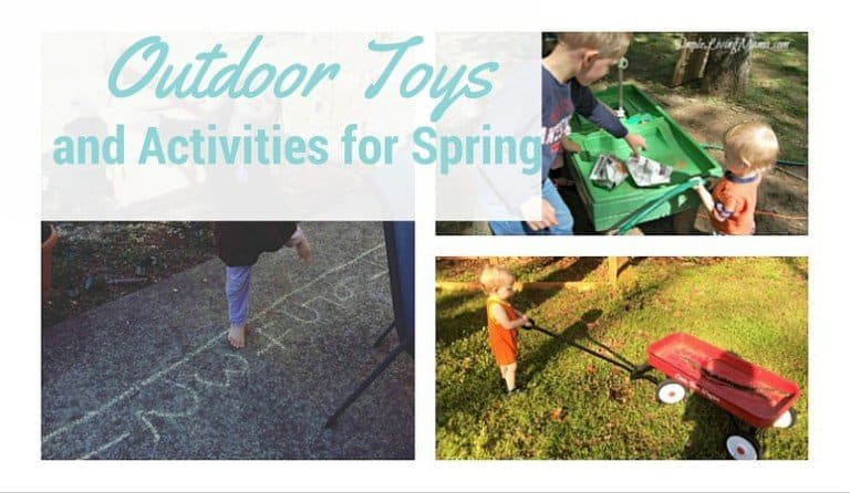 Our Favorite Outdoor Toys and Activities for Spring