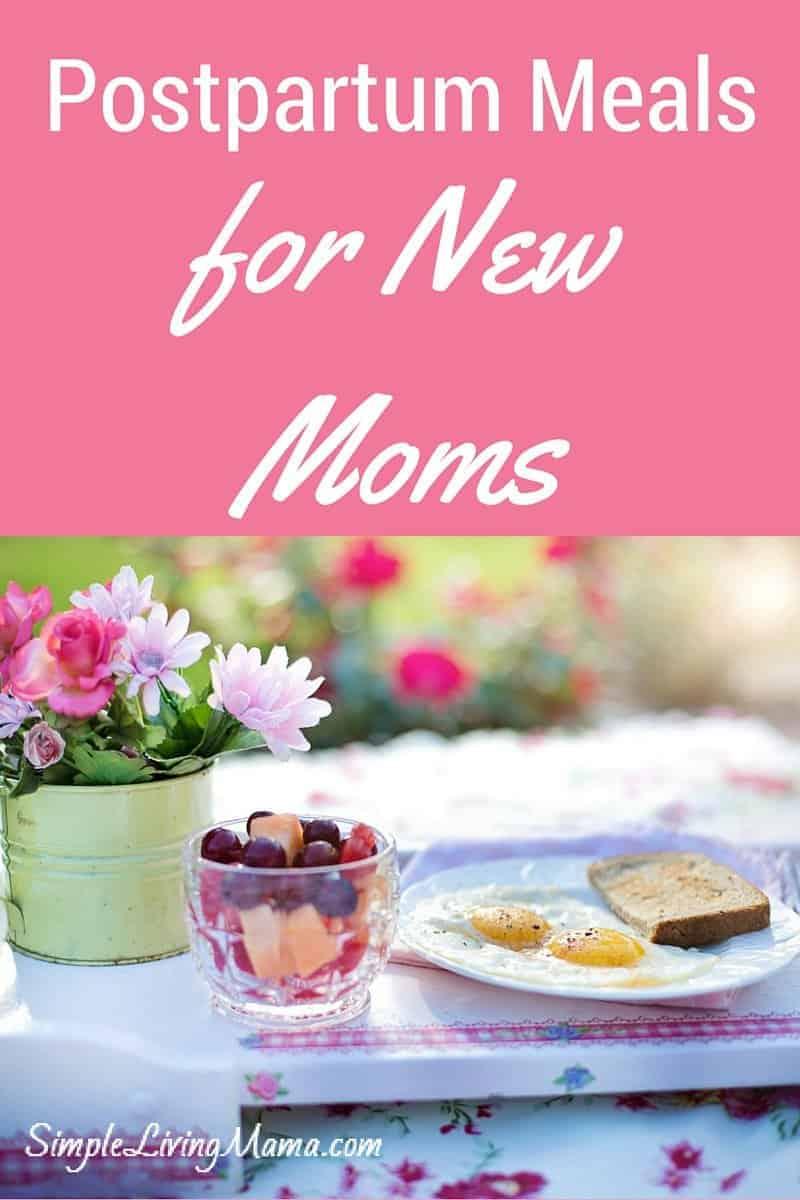 Postpartum Meals