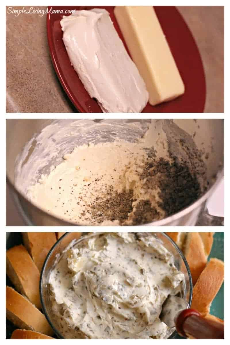 how to make garlic cheese spread