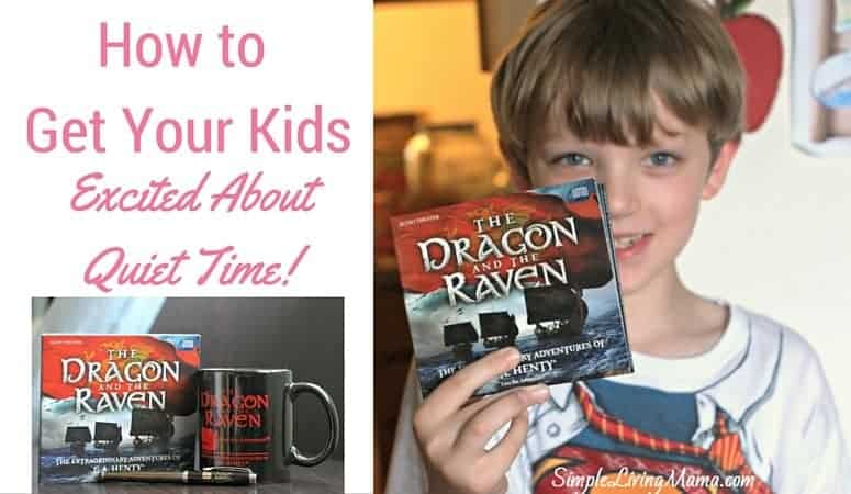 How To Get Your Kids Excited About Quiet Time