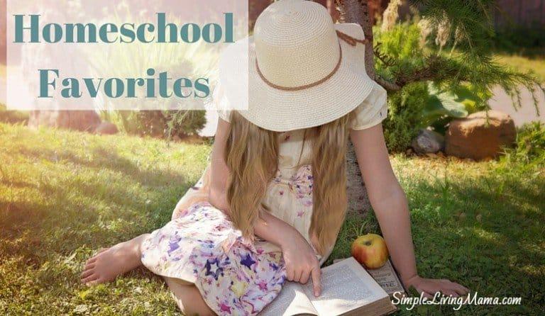 July Homeschool Favorites Planning Edition