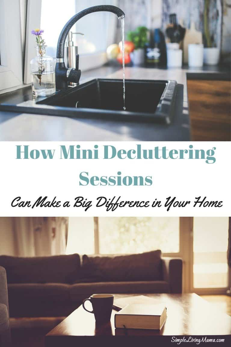 How Mini Decluttering Sessions Can Make a Big Difference in Your Home