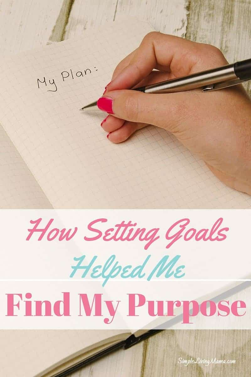 How Setting Goals Helped Me find my purpose