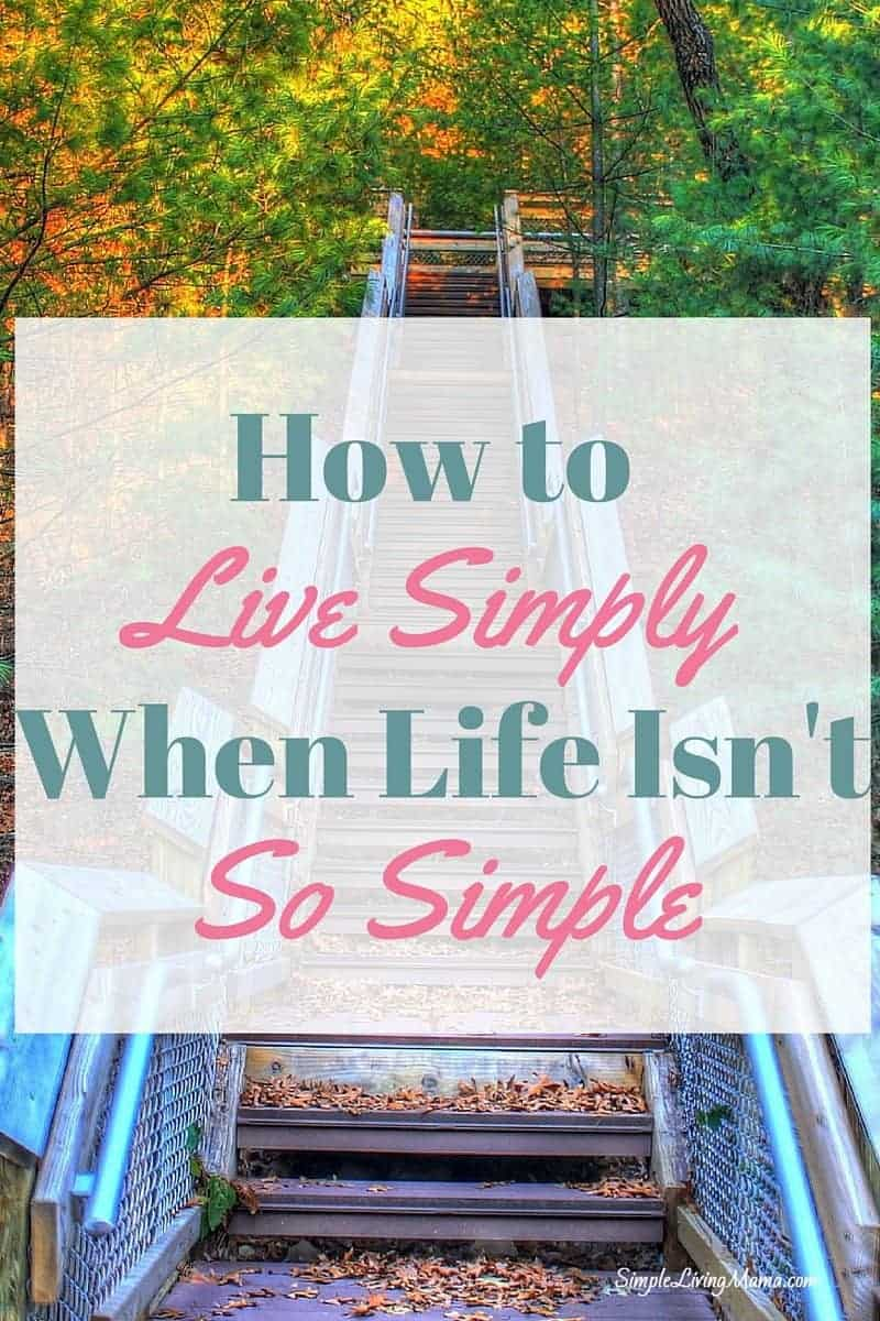 How to Live Simply