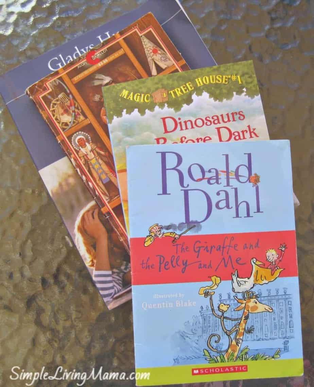 Summer read-aloud books
