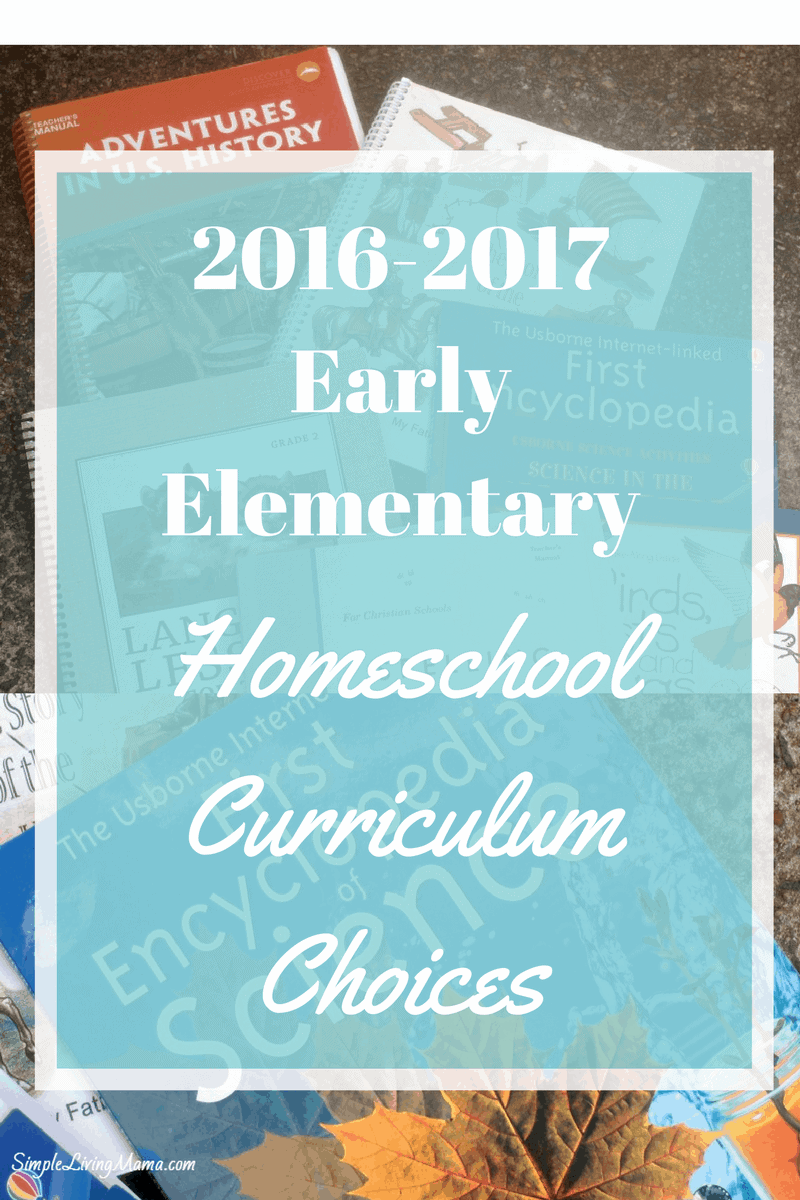 2016-2017Early Elementary