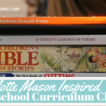 Our Charlotte Mason Homeschool Preschool Plans