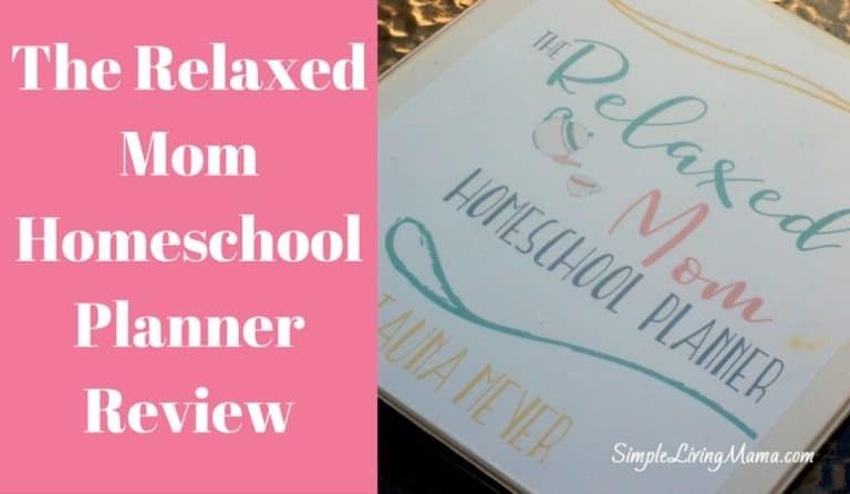 The Relaxed Mom Homeschool Planner – Review