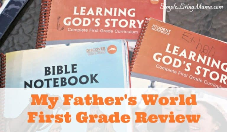My Father's World First Grade Review