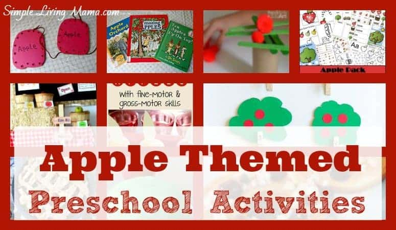 Apple Preschool Activities