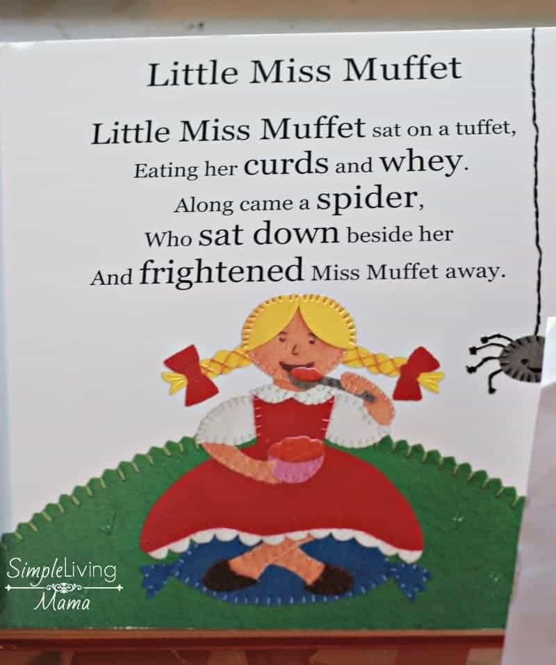Choosing nursery rhymes