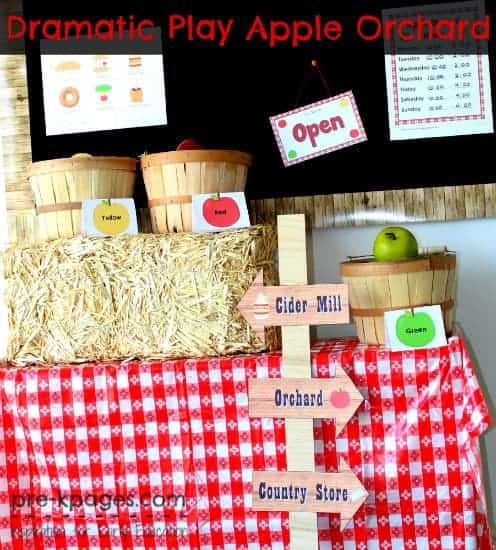 dramatic-play-apple-theme
