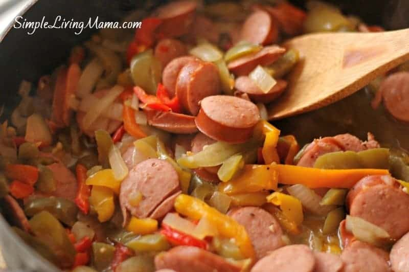 sausage-and-peppers-skillet