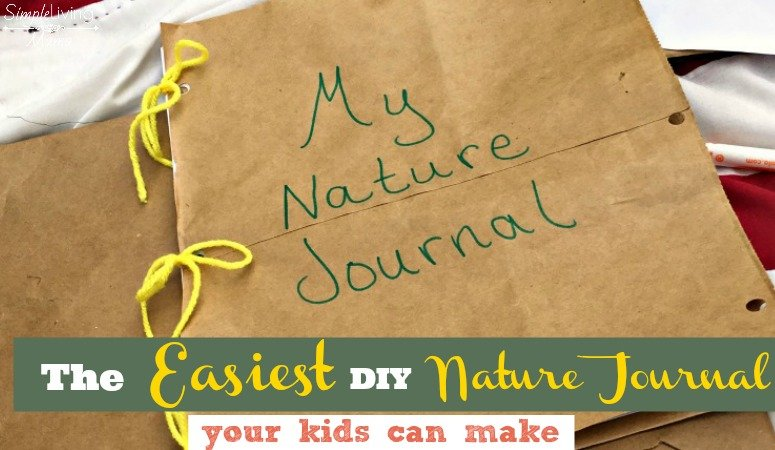 The easiest DIY nature journal.