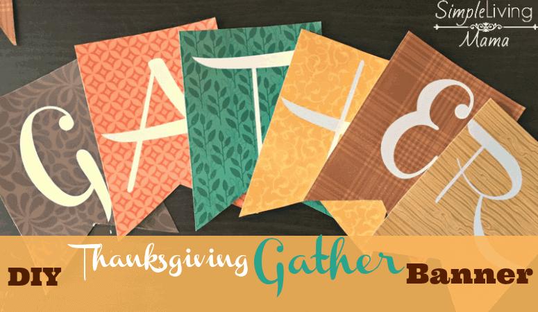 Gather Thanksgiving Banner