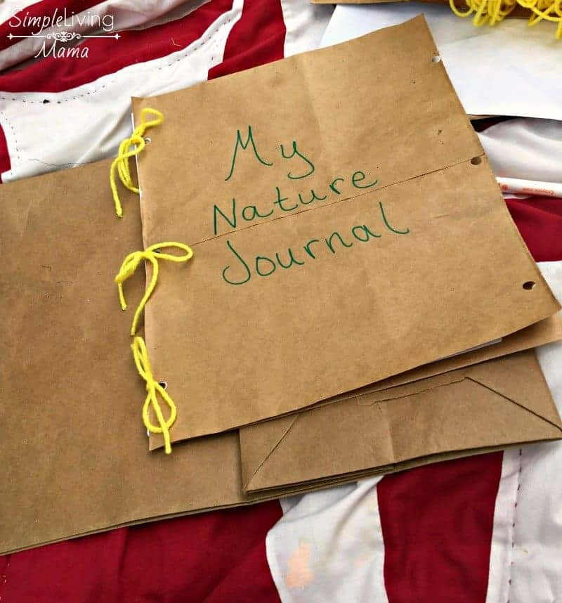Finished nature journal