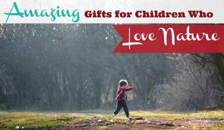 Amazing Gifts for Kids Who Love Nature
