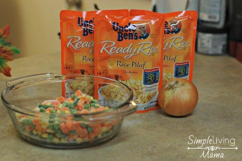 ingredients-for-vegetable-rice-pilaf
