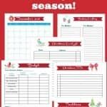This printable Christmas planner will help you simplify the season. Keep track of your Christmas plan in one place!