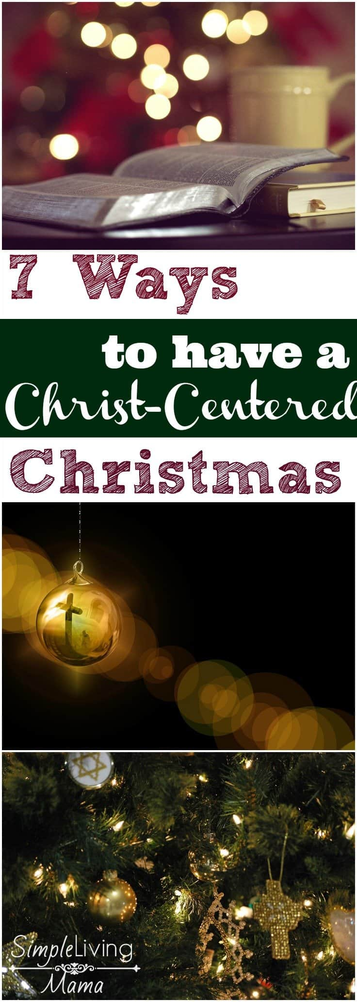 In a world where people are turning away from Christ, it is so important to bring him back to the forefront. Here are 7 ways you can have a Christ-Centered Christmas and start new traditions with your family.