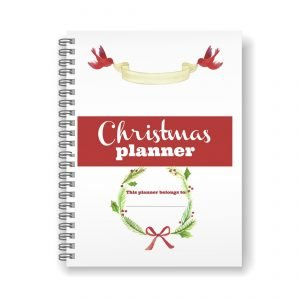 Gorgeous DIY Christmas planning printables