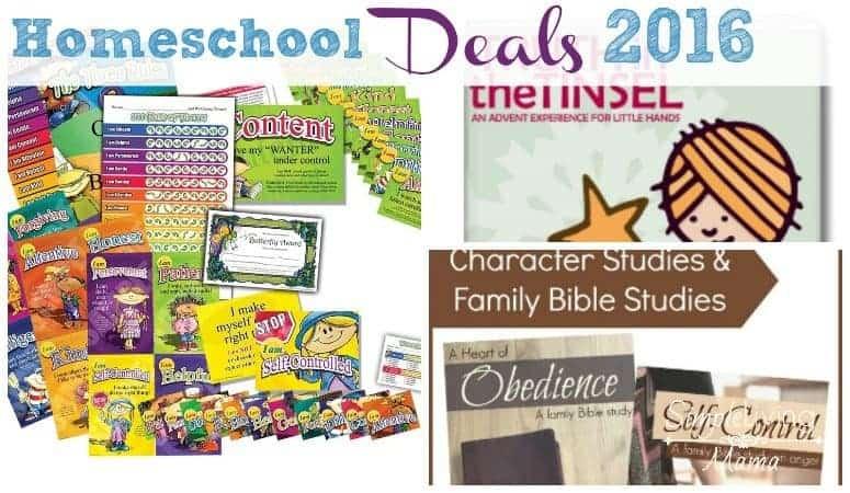 Deals for Homeschoolers 2016
