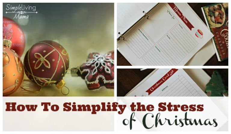 How To Simplify the Stress of Christmas – Christmas Planner Printables