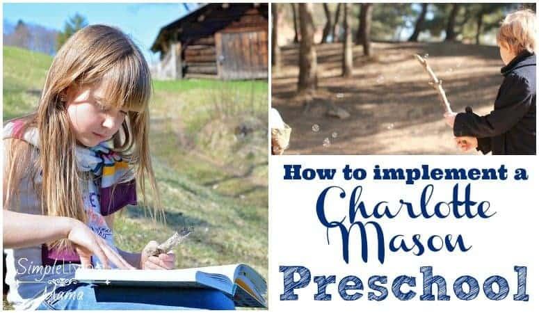 A Charlotte Mason preschool