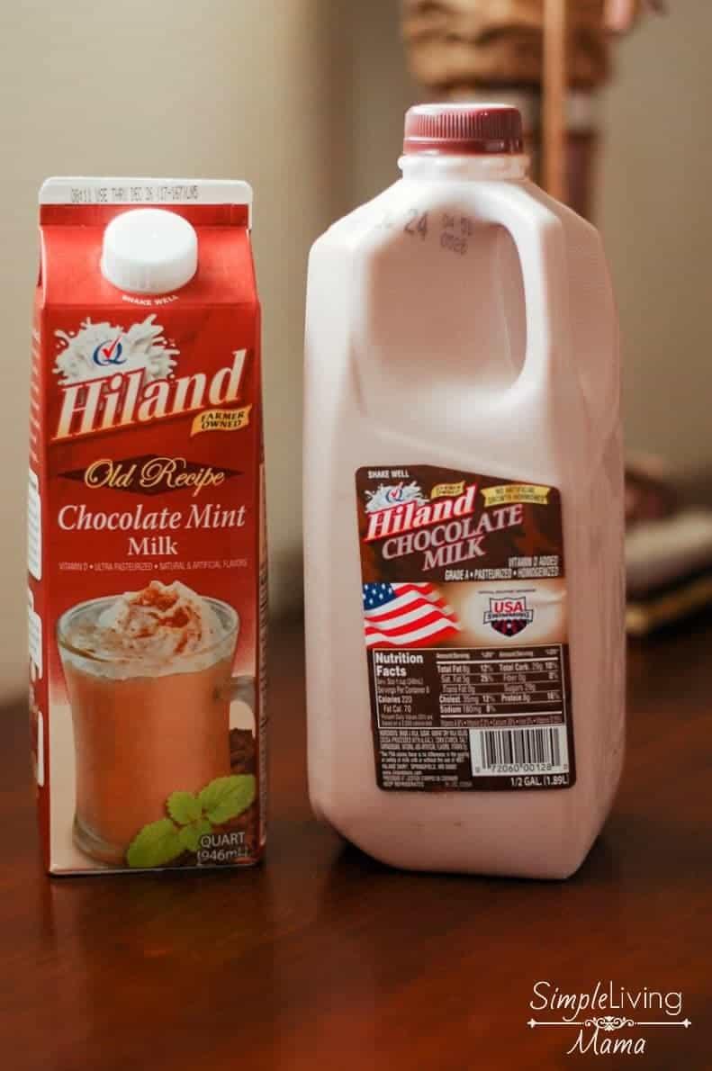 Hiland dairy chocolate milk