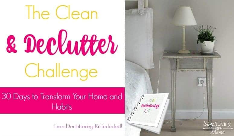The Clean and Declutter Challenge