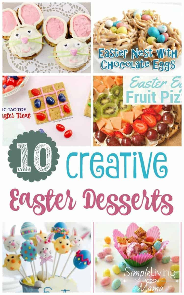 If you are looking for Easter dessert ideas for your Easter party, these 10 creative Easter desserts will give you a lot of inspiration.