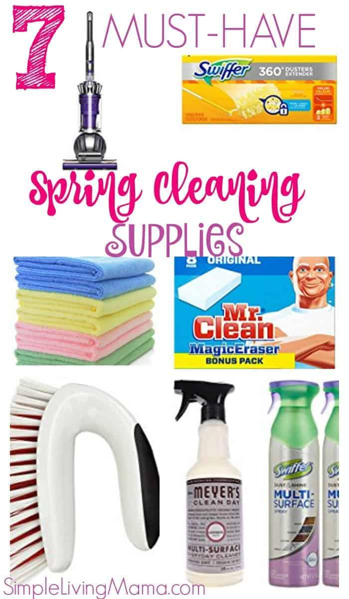 7 Must-Have Cleaning Supplies for Spring Cleaning