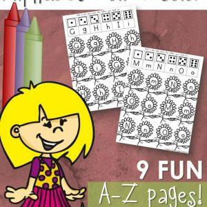 Spring Alphabet Game