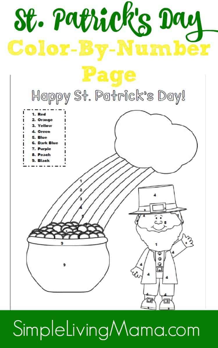 st patricks day coloring pages - St Patricks Day Pictures To Color 2