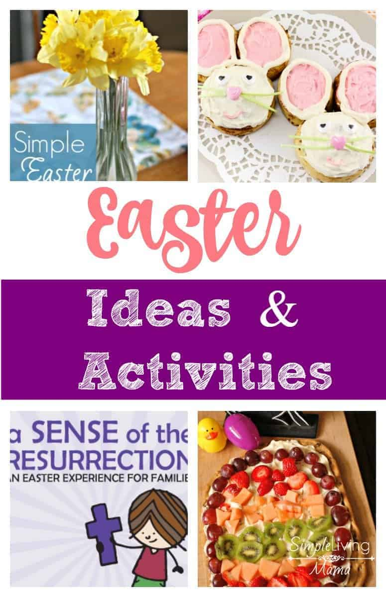 Easter Ideas and Activities to bring joy this season!
