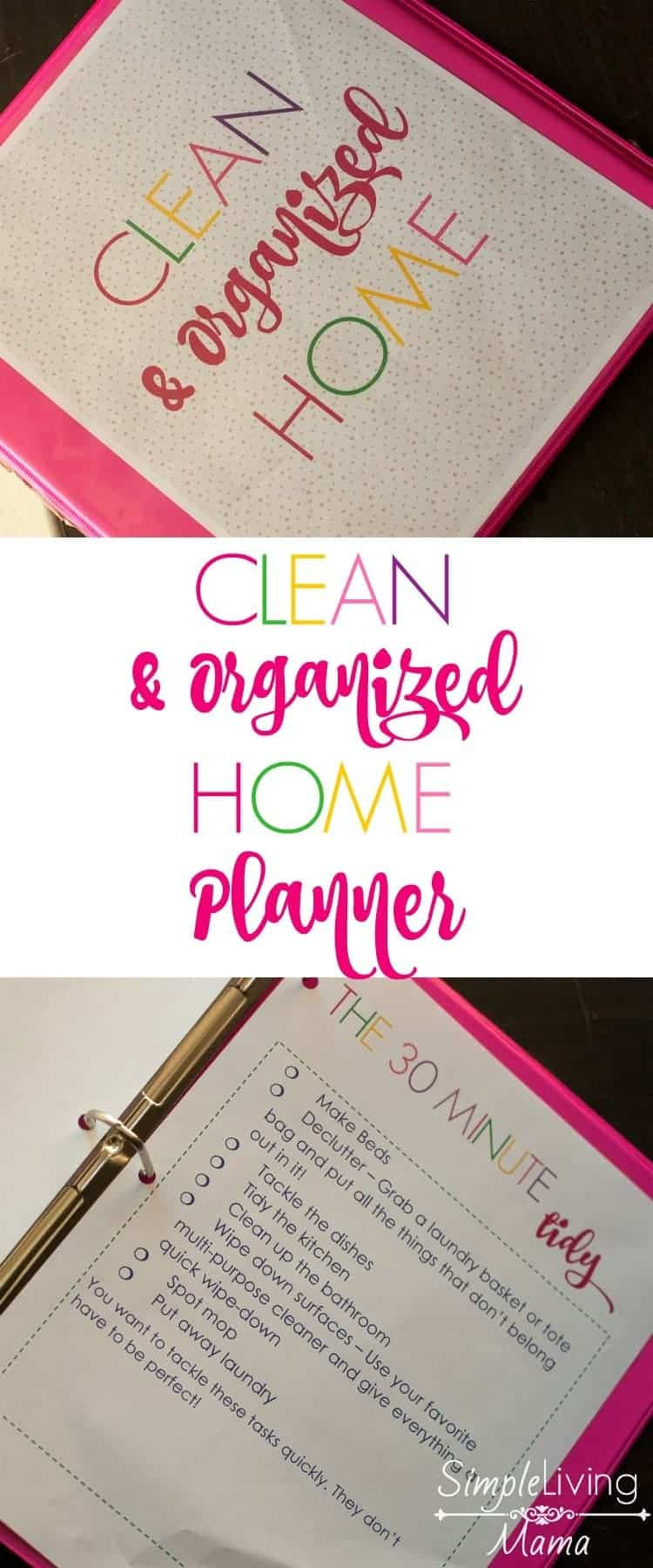 The clean and organized home planner